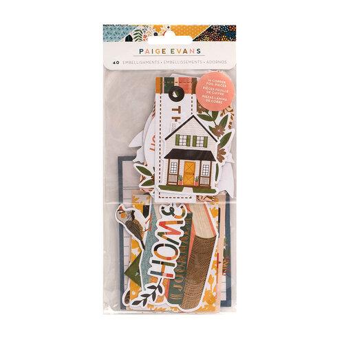 Paige Evans - Bungalow Lane Collection - Ephemera - Icons with Foil Accents
