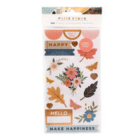 Paige Evans - Bungalow Lane Collection - Sticker Book with Copper Foil Accents