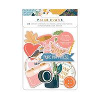Paige Evans - Bungalow Lane Collection - Epoxy Stickers with Copper Foil Accents