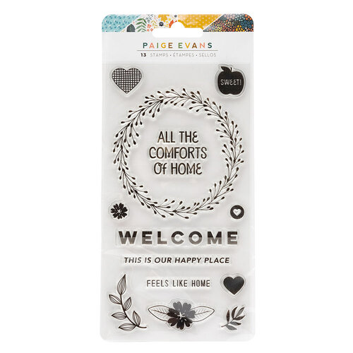 Paige Evans - Bungalow Lane Collection - Clear Acrylic Stamps