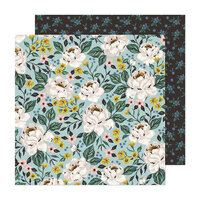 Maggie Holmes - Market Square Collection - 12 x 12 Double Sided Paper - Fresh Bouquet