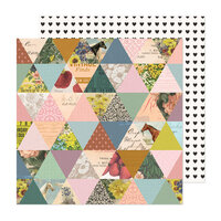 Maggie Holmes - Market Square Collection - 12 x 12 Double Sided Paper - Memoir