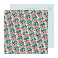 Maggie Holmes - Market Square Collection - 12 x 12 Double Sided Paper - Sweetness
