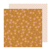 Maggie Holmes - Market Square Collection - 12 x 12 Double Sided Paper - Golden Hour