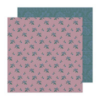 Maggie Holmes - Market Square Collection - 12 x 12 Double Sided Paper - Very Berry