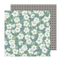 Maggie Holmes - Market Square Collection - 12 x 12 Double Sided Paper - Home and Garden
