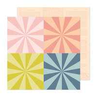Maggie Holmes - Market Square Collection - 12 x 12 Double Sided Paper - Big Magic