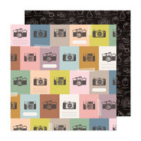 Maggie Holmes - Market Square Collection - 12 x 12 Double Sided Paper - All Smiles