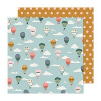 Maggie Holmes - Market Square Collection - 12 x 12 Double Sided Paper - Up and Away