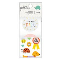 Pebbles - Kid At Heart Collection - Sticker Rolls
