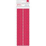 American Crafts - Everyday - Paper Straws - Crimson Dot