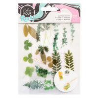 American Crafts - Color Pour Resin Collection - Mix-In Acetate Leaves