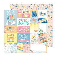Obed Marshall - Buenos Dias Collection - 12 x 12 Double Sided Paper - Salud