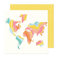 Obed Marshall - Buenos Dias Collection - 12 x 12 Double Sided Paper - Vamonos