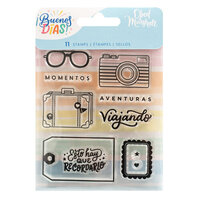 Obed Marshall - Buenos Dias Collection - Clear Acrylic Stamps - Aventuras
