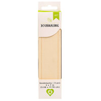 American Crafts - Sustainable Journaling Collection - Wooden Bookmarks