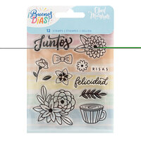 Obed Marshall - Buenos Dias Collection - Clear Acrylic Stamps - Juntos