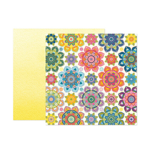 Paige Evans - Wonders Collection - 12 x 12 Double Sided Paper - Paper 1