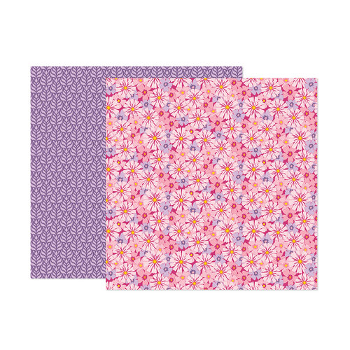 Paige Evans - Wonders Collection - 12 x 12 Double Sided Paper - Paper 7