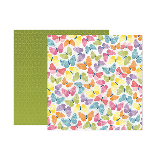 Paige Evans - Wonders Collection - 12 x 12 Double Sided Paper - Paper 8
