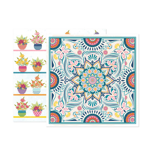 Paige Evans - Wonders Collection - 12 x 12 Double Sided Paper - Paper 9