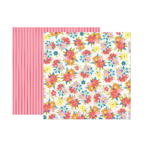 Paige Evans - Wonders Collection - 12 x 12 Double Sided Paper - Paper 16