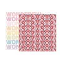 Paige Evans - Wonders Collection - 12 x 12 Double Sided Paper - Paper 19