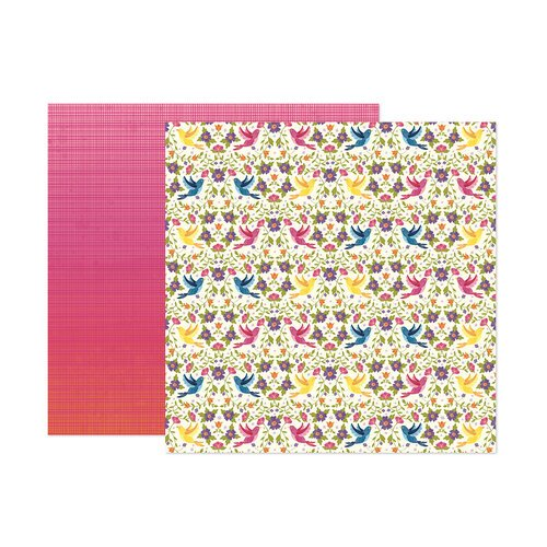 Paige Evans - Wonders Collection - 12 x 12 Double Sided Paper - Paper 21