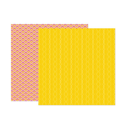 Paige Evans - Wonders Collection - 12 x 12 Double Sided Paper - Paper 23