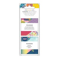 Paige Evans - Wonders Collection - 2 x 2 Paper Pad - Mini Swatch Book