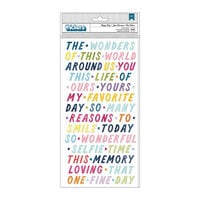 Paige Evans - Wonders Collection - Thickers - Happy Day - Phrases