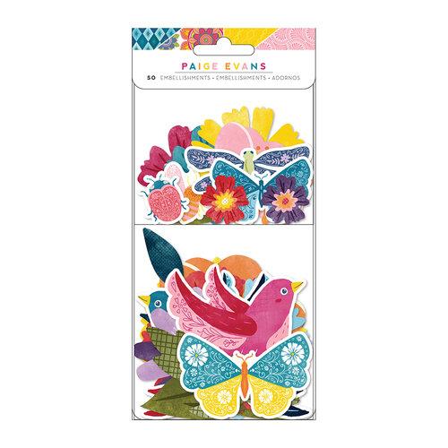 Paige Evans - Wonders Collection - Ephemera - Floral