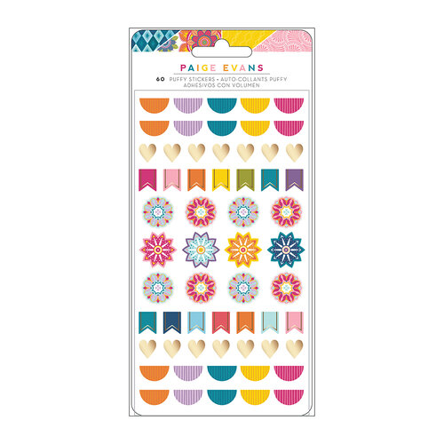 Paige Evans - Wonders Collection - Puffy Stickers