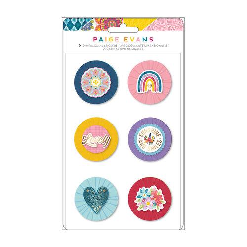 Paige Evans - Wonders Collection - Stickers - Lollies - Gold Foil Accent