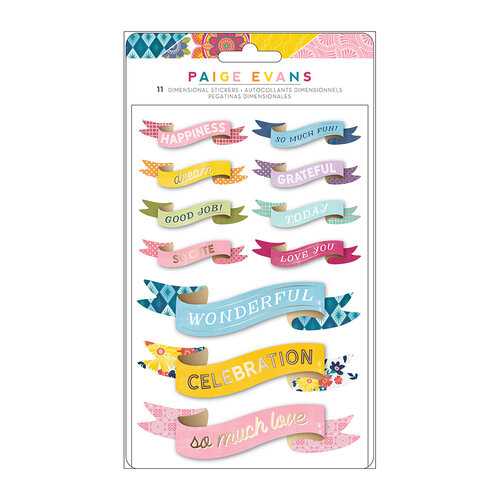 Paige Evans - Wonders Collection - Stickers - Banners