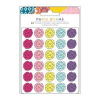 Paige Evans - Wonders Collection - Embellishments - Paper Flowers