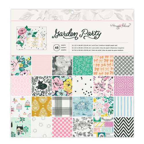 Maggie Holmes - Garden Party Collection - 12 x 12 Paper Pad