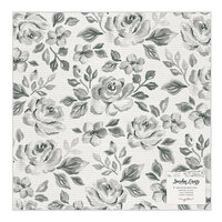 Maggie Holmes - Garden Party Collection - 12 x 12 Specialty Paper - Rose Bush - Vellum