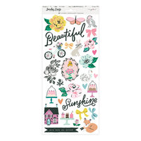 Maggie Holmes - Garden Party Collection - 6 x 12 Sticker Sheet