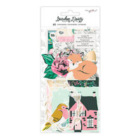 Maggie Holmes - Garden Party Collection - Ephemera - Vellum and Gold Foil Accents