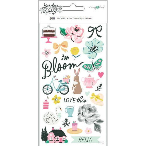 Maggie Holmes - Garden Party Collection - Sticker Book