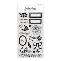 Maggie Holmes - Garden Party Collection - Clear Acrylic Stamps