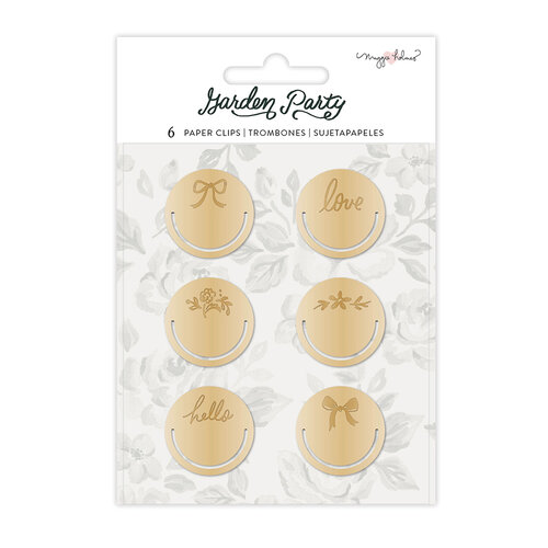 Maggie Holmes - Garden Party Collection - Circle Paper Clips