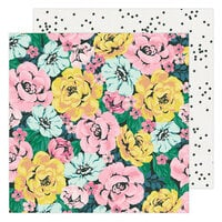 Maggie Holmes - Garden Party Collection - 12 x 12 Double Sided Paper - Freshly Picked