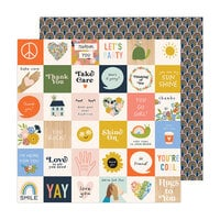 Jen Hadfield - Reaching Out Collection - 12 x 12 Double Sided Paper - Hello You