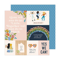 Jen Hadfield - Reaching Out Collection - 12 x 12 Double Sided Paper - Better Together
