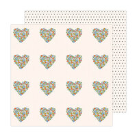 Jen Hadfield - Reaching Out Collection - 12 x 12 Double Sided Paper - You Have My Heart