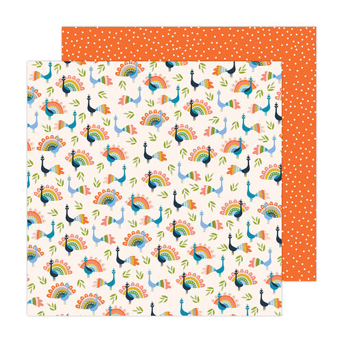 Jen Hadfield - Reaching Out Collection - 12 x 12 Double Sided Paper - Birds of a Feather