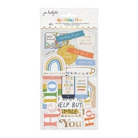 Jen Hadfield - Reaching Out Collection - Ephemera - Phrases - Gold Foil Accents