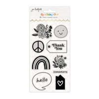 Jen Hadfield - Reaching Out Collection - Clear Acrylic Stamps